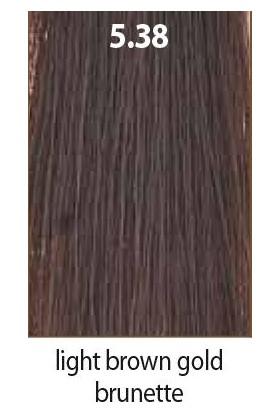 Maraes Organik Saç Boyası 5.38 / Açık Kestane Dore Kahve