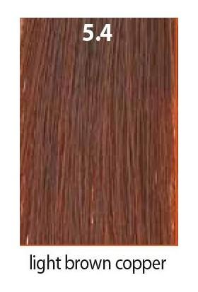 Maraes Organik Saç Boyası 5.4 / Açık Kestane Bakır