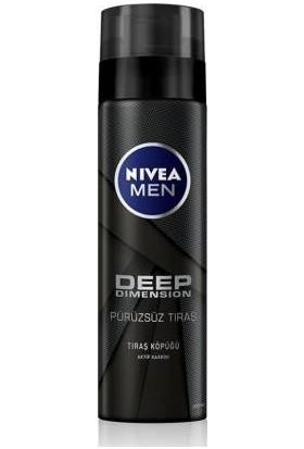 Nivea Men Deep Dimension Tıraş Köpüğü 200Ml
