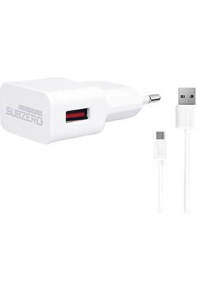 Subzero SG12 2.1A Micro USB Seyahat Şarj Cihazı