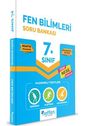 Netfen Yayınları 7. Sınıf Fen Bilimleri Soru Bankası