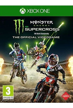 Monster Energy Supercross The Official Videogame Xbox One Oyun