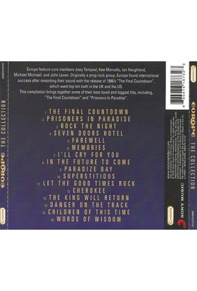 Europe – The Collection CD