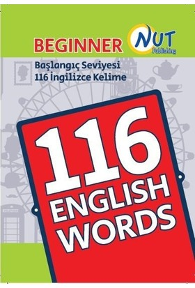 Nut Publishing Beginner 116 English Words Kartları