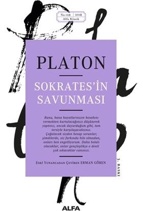 Sokrates'İn Savunması - Eski Yunancadan Çeviren Erman Gören-Platon (Eflatun)