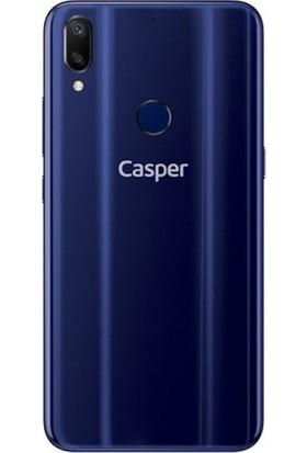 Kaltel Gsm Casper Via A3 Silikon Kılıf Şeffaf + Cam Koruyucu