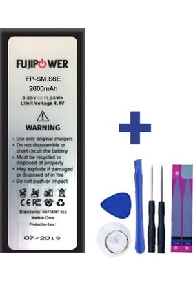 Fujipower Samsung Galaxy S6 Edge Batarya Pil 2600 Mah