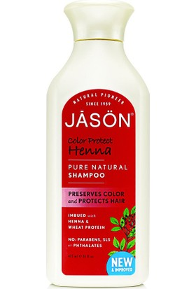 Jason Color Protetc Henna Şampuan 473 ml