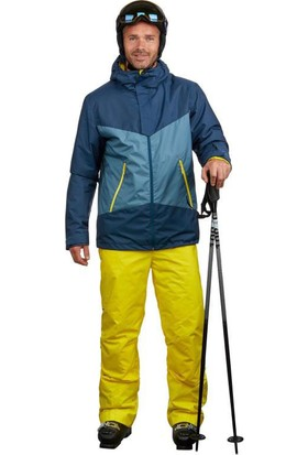 Weedz Erkek Kayak Montu Nefes Alan Yapı Su Geçirmez Isı Yalıtımlı 4 Cepli