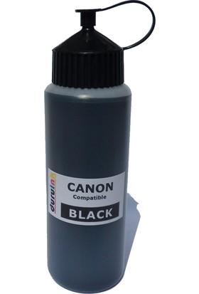 Canon (E404 E414 E464 E474 E484) Kartuş Mürekkep Dolum Seti Pg 46 500 ml Siyah