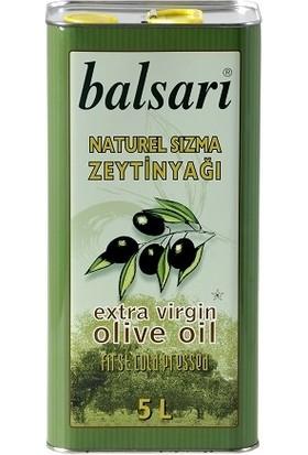 Balsari Naturel Sızma Zeytinyağı - 5 Litre - Soğuk Sıkım