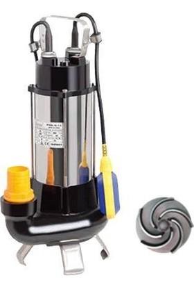 Duffmart V1100F-B Pis Su Foseptik Parçalayıcılı Açık Fanlı Dalgıç Pompa