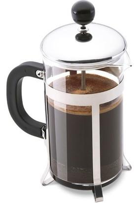 Epinox French Press - Kahve ve Bitki Çayı Demleme Ekipmanı (METAL-350 Ml)