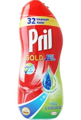 Pril Gold Jel Yağ Çözücü 650 ml