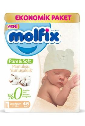 Molfix Pure&Soft Jumbo Bez Yenidoğan 46'lı