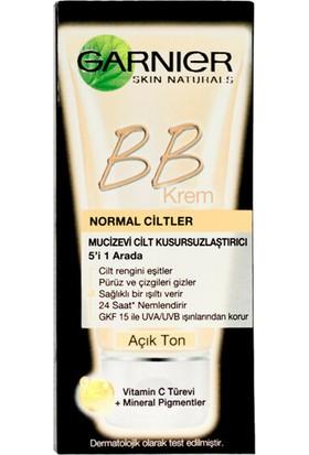 Garnier Skin Naturals BB Krem 5'i 1 Arada Mucizevi Krem 50 ml(Açık Ton)