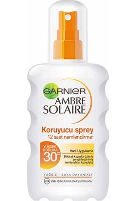 Garnier Ambre Solaire Güneş Sütü Sprey 30 Faktör 200 ml