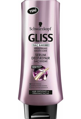 Gliss Serum Deep Repair Saç Kremi 360 ml