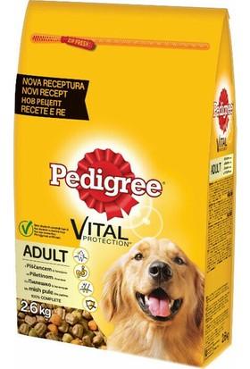 Pedigree Biftekli ve Kümes Hayvanlı Kuru Köpek Maması 2.6 Kg