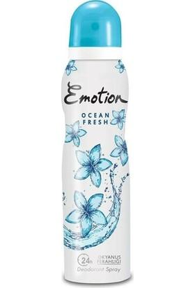 Emotion Ocean Fresh 150 ml Kadın Deodorant