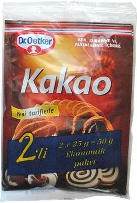 Dr. Oetker Kakao 50 gr (25 g x 2)