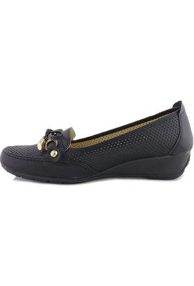 Fasgos GDP-Z30 Siyah Kadın Günlük Ayakkabı