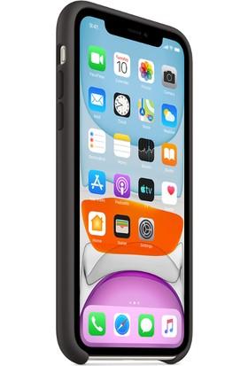Apple iPhone 11 Silikon Kılıf - Siyah - MWVU2ZM/A