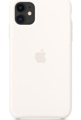 Apple iPhone 11 Silikon Kılıf - Beyaz - MWVX2ZM/A
