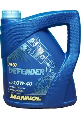 Mannol Defender 10W40 Motor Yağı (4 Litre)