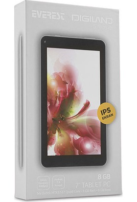 "Everest Digiland DL7006-KB 7"" 8GB IPS Wi-Fi Tablet Beyaz"