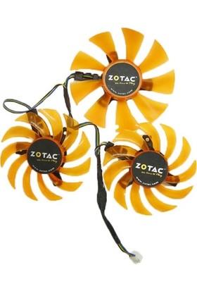Zotac 780 Amp + GTX770 GTX780 Ekran Kartı Fanı