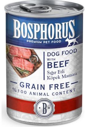 Bosphorus Sığır Etli Köpek Konservesi 12 x 415 g Kutu