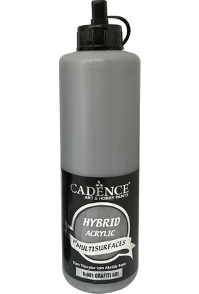 Cadence Hibrit Multisurface Boya 500 ml H081 Grafiti Gri