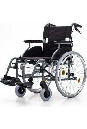 Mor Medikal DM - 317 Gri Tekerlekli Sandalye
