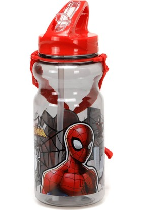 Spiderman 97847 Kırmızı Erkek Çocuk Matara