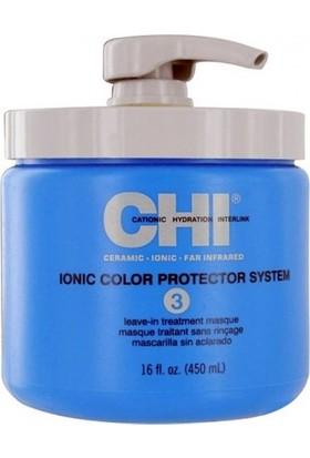 Chi Ionic Color Protector System Durulanmayan Bakım Maskesi 450ml