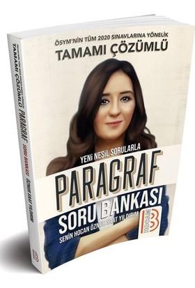 Benim Hocam Yayınları 2020 Tüm Sınavlar İçin Paragraf Soru Bankası - Öznur Saat Yıldırım