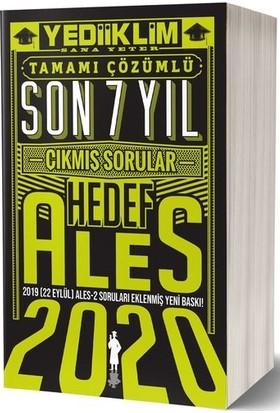 Yediiklim Yayınları 2020 Ales Son 7 Yıl Tamamı Çözümlü Çıkmış Sorular(22 Eylül Ales-2 Ekli)