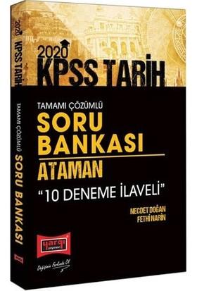 Yargı Yayınları 2020 Kpss Ataman Tarih Tamamı Çözümlü Soru Bankası - 10 Deneme İlaveli - Necdet Doğan