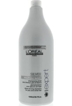 L'Oréal Professionnel Silver Gri Ve Beyaz Saçlara Özel Şampuan 1500Ml