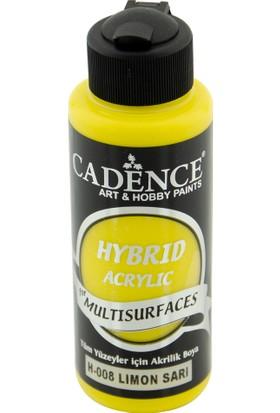 Cadence Limon Sarı Hybrid (Hibrit) Multisurface Boya 120 ml