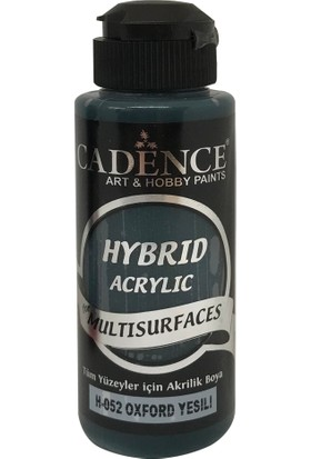 Cadence Oxford Yeşil Hybrid (Hibrit) Multisurface Boya 120 ml