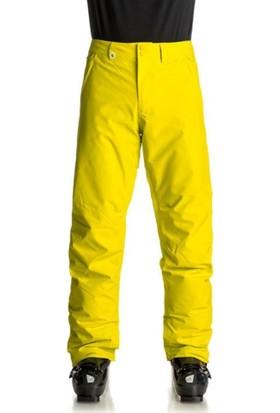 Weddize Erkek Snowboard ve Kayak Pantolonu Sarı Su Geçirmez Hareket Serbestliği