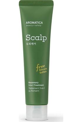 Aromatica Rosemary 3-1 Treatment - Biberiye Özlü 3'ü 1 Arada Saç Bakım Kremi