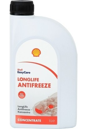 Shell Organik Kırmızı Konsantre Antifriz 1lt