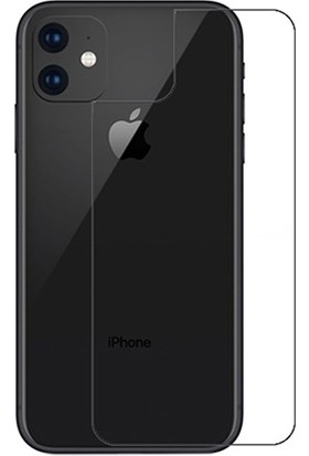 Ally AL-31298 Apple iPhone 11 Tempered Kırılmaz Arka Cam Koruyucu