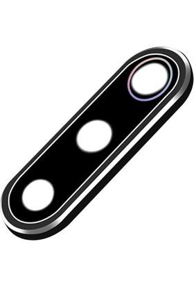 Ally AL-31303 Xiaomi Mİ 9 / Mİ 9SE Kamera Koruma Metal Set Birleşik - Siyah