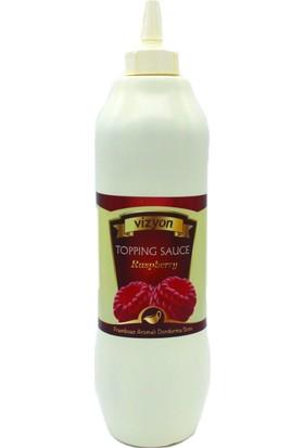 Vizyon Frambuaz Aromalı Dondurma Sosu 1 kg