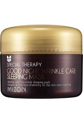 Mizon Good Night Wrinkle Care Sleeping Mask - Yaşlanma Karşıtı Gece Maskesi