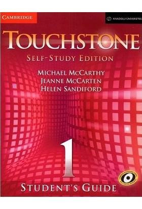 Touchstone Self - Study Edition 1 Student's Book & Student's Guide Dvd-Rom